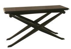 Art Deco Black Console | Shilou Furniture