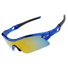 ba8a0769a7 Oakley Radar Pitch Sunglasses Polished Blue Frame Ice Iridium Lens