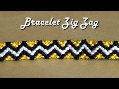 Comment Ecrire sur un bracelet brésilien (bracelet prénom) - YouTube