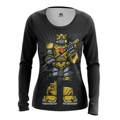nice Girls Longsleeve Bumblebee Transformers Movie Collectibles Gifts Merch
