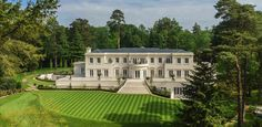 House for sale in Waverley Drive, Wentworth, Virginia Water, Surrey, - Mega Mansions, Mansions For Sale, Mansions Homes, Spa, Residential Architect, Amazing Buildings, Facade House, Classic House, Surrey