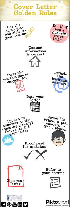 Four Quick Fixes to Make Your Cover Letter Stand Out Board - how to make a cover letter