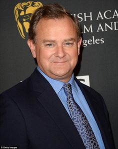 Getting nervous? Downtown Abbey star Hugh Bonneville is nominated for Best Actor in Sunday's Emmy Awards