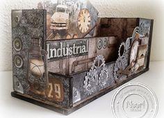 MDF Desktop - Studio Light Industrial
