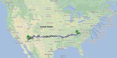 Week 24 of 52 Things 52 Weeks: The Great American Road Trip #bucketlist