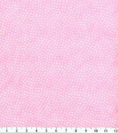 Keepsake Calico Fabric Allover Print Pink