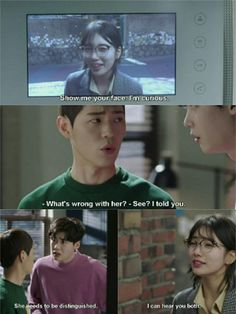 Korean Dramas, Korean Actors, Show Me Your Face, Cinderella And Four Knights, Drama Funny, Lee Young, Kdrama Memes, While You Were Sleeping, Joo Hyuk