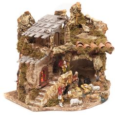 Ceramic Houses, The Donkey, Holiday Ornaments, Vintage Wood, Decoration, Diorama, Planer, Gingerbread, Origami