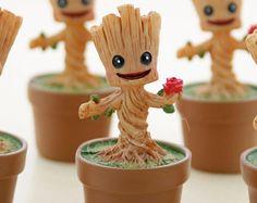Groot/ terrarium figurine/ miniature garden/ fantasy/ baby groot/ terrarium accessory/ marvel/ tree/ terrarium/ miniature figurine-1pc