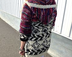 Isabel Marant for H M Red Black And Multicolor Sweater cardigan coat size XS NWT