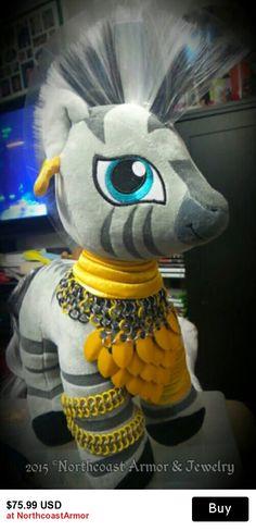Zecora/Pony Custom made Chainmail Armor
