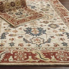 Josslyn Rug from Ballard Designs. Love this and you can bring in so many colors.