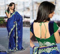 Sparkling Fashion: New designer blouses & Sarees