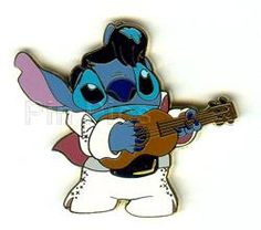 Stitch in his Elvis outfit $8