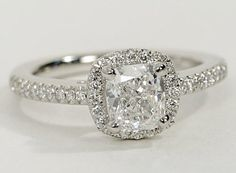 The most popular engagement rings from New York to Los Angeles. #wedding (Photo by: Courtesy of bluenile.com)