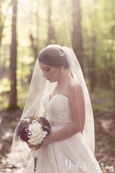 Bridal Portrait at Rock Chapel in Carmel, Louisiana - daylightfadingphotography.com