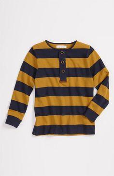 Burberry Stripe Henley Top (Little Boys)   Nordstrom