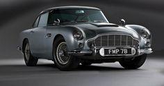 Childhood cool | James Bond Aston Martin DB5 1964 – JB 007
