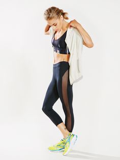 Without Walls Mesh Cropped Legging - Without Walls