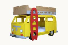 My kids would never want to get out of bed! VW Camper Van Bunk Beds: Ga Ga or Gag?