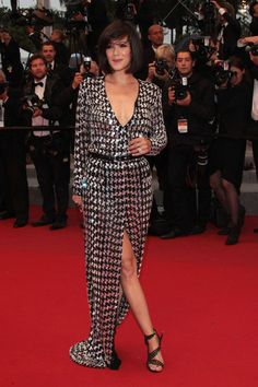 Melanie Doutey in Emilio Pucci at Cannes