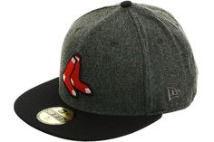 New Era 2Tone Boston Red Sox 2Sox Fitted Hat - Flannel, Navy, Red