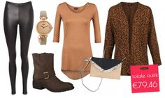 The look for less: complete outfit for only €79,46 ► http://www.missbudget.nl/look-for-less/item/356-vd-dames-dameskleding-damesschoenen-sale-extra-korting-kortingscode