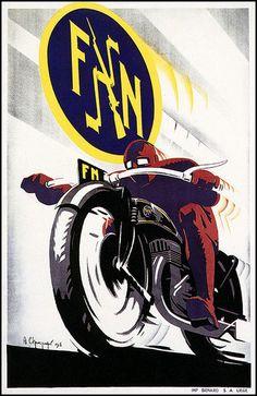 FN Motorcycles 1930's