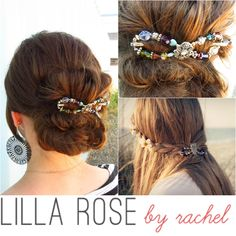 { TheLoverList: Lilla Rose by Rachel flexi hairclips }