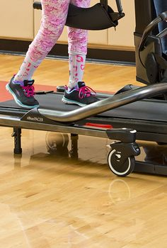 A recent study shows that applying limb resistance during BWSTT improves active involvement during gait in children with CP.