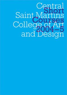 Central Saint Martins, 1997–2007 by Jannuzzi Smith