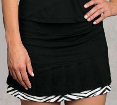 Masquerade (Black) Bolle Ladies Tennis Pull On Skorts at Tennis Skirts, Tennis Dress, Tennis Clothes, Golf Attire, Golf Outfit, Womens Golf Wear, Tennis Bags, Chic Shop, Skorts