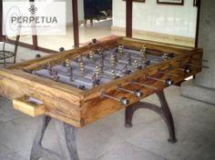 ®Perpetua muebles #perpetua #muebles #madera #infantil #futbolito #juegos Más información o catálogo completo www.perpetuamuebles.com