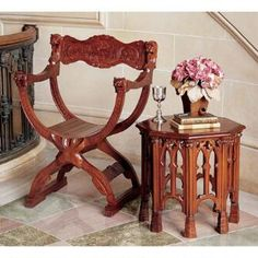 Medieval Cross Frame Chair Was: $449.00           Now: $399.00