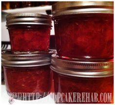 Sugar free strawberry jam~~