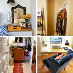 Nice miscellaneous collection of images from Apartment Therapy.  Great nightstand inspiration and more.