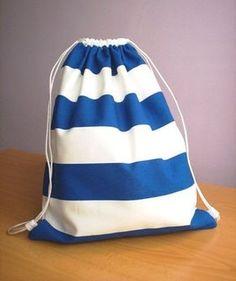 Una mochila muy marinera   Las cosinas de Laura
