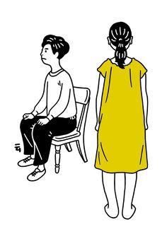 Japanese illustrator Nimura Daisuke creates adorable GIFs and other whimsical drawings that just make our day. His characters experience small everyday adversities, that everyone can. Japanese Illustration, Simple Illustration, Funny Illustration, Arte Grunge, Animated Gifs, Illustrator, Ligne Claire, Its Nice That, Animation