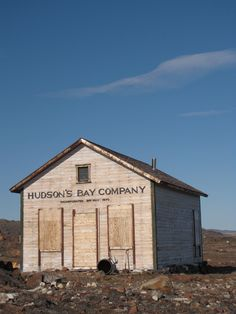 Old Hudson's Bay Company trading post. (I live in the north in the middle of the boreal forest, 50 km. from any other town and this is about it for retail. History Major, Canadian History, Native American History, American Indians, Mountain Man, Norway House, Canada 150, Fur Trade, Western Canada