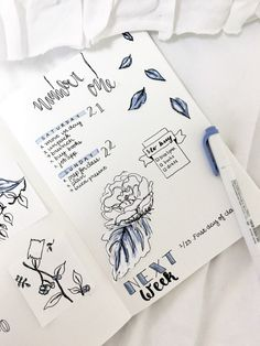 """oui-etudier: """"Hello everyone! Since my second semester of college has started, I decided to start a bullet journal. Bullet Art, Bullet Journal Spread, Bullet Journal Layout, Bullet Journal Inspiration, Bullet Journals, Organization Bullet Journal, Note Doodles, Bullet Journal Printables, Journal Pages"""
