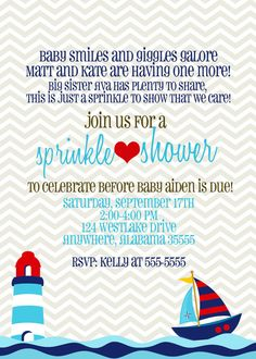Baby Sprinkle Baby Shower Sip n See by sullivandigidesigns on Etsy