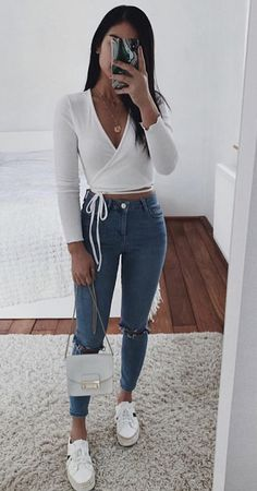 Casual Outfits 710091066234509615 - Süße Sommeroutfits, die du schon besitzen solltest – Wass Sell cute summer outfits you should already own – Wass Sell, Source by Boho Outfits, Teen Fashion Outfits, Look Fashion, Fall Outfits, Paris Fashion, Street Fashion, Womens Fashion, Queer Fashion, Preppy Outfits