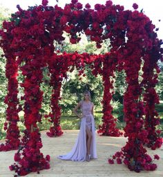 VICTORIA'S SECRET Red Rose Wedding, Gothic Wedding, Wedding Flowers, Quinceanera Decorations, Wedding Decorations, Wedding Trends, Wedding Venues, Renewal Wedding, Christmas Wedding