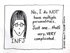 Aaron Caycedo-Kimura, the illustrator behindINFJoe Cartoons, says he created the series to helpother INFJs not feel so alone.