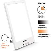 Comenzar Sun Lamp Led White Warm Lamp Uv Free 2000 12000 Lux Gradient Brightness Timer Function And Touch Control For Home Office Use In 2020 Sun Lamp Timer Led Lamp
