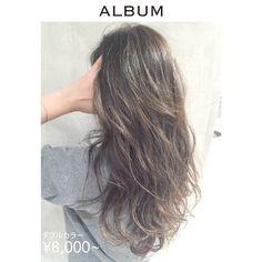 「髪の毛傷めずに外国人風カラー?ハイライトでつくる透明感たっぷりヘア」に含まれるinstagramの画像|MERY [メリー]