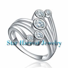 silver promise rings with modern design silver ring http://www.starharvestsilverjewelry.com/