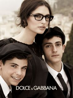 Bianca Balti for Dolce & Gabbana Eyewear by Giampaolo Sgura