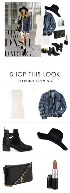 """""""Spring feeling"""" by lifestyle941 ❤ liked on Polyvore featuring Gap, Pull&Bear, River Island, Chanel and MAC Cosmetics"""