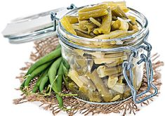 Green beans are one of the most popular vegetables for fermenting, and can be eaten like pickles, or a veggie side dish. Dilly Beans, Veggie Side Dishes, Jewish Recipes, Small Plates, Food Menu, Vegan Vegetarian, Pickles, Cucumber